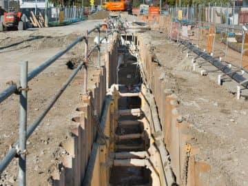 Burwood West and Main Trunk Sewers project image