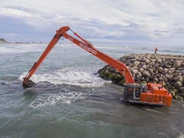 Christchurch Coastguard Ramp Dredging project image